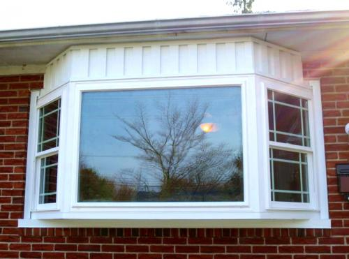 Bay window install