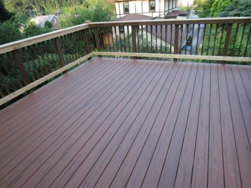 Composite Decking With Hidden Fastener System 2