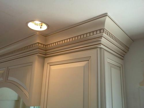 Triple piece Crown molding 1